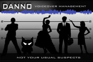 Danno Voice Over Management Logo