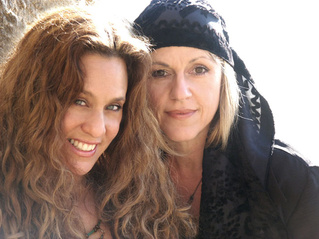 Donna Rawlins and Stacy Robin